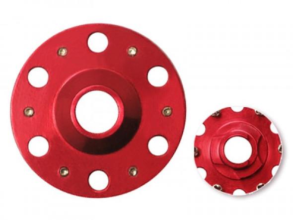 MicroHeli Aluminum Main Gear Hub Red