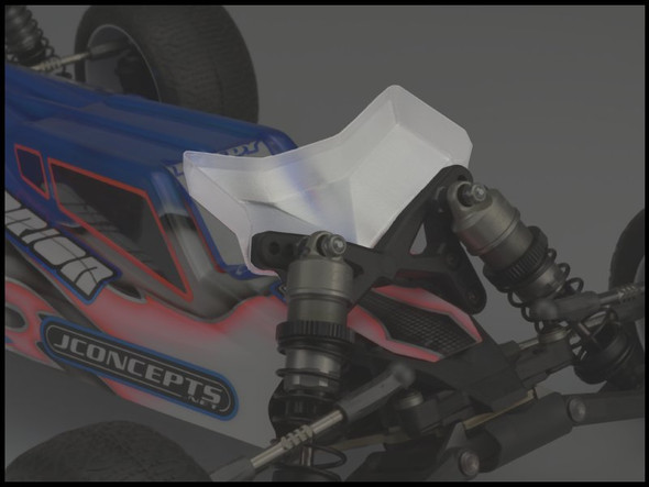 JConcepts 0156 Clear Front Wing Wide (2) : TLR 22 3.0