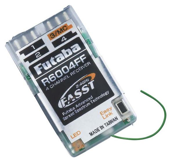 Futaba R6004FF 4-Channel 2.4GHz FASST Indoor Micro Rx Receiver 7C