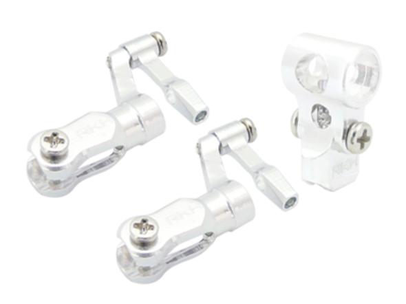 Rakon Heli nCPX001-S CNC Aluminum DFC Head Set Silver Nano CPX / nCPX / nCP X
