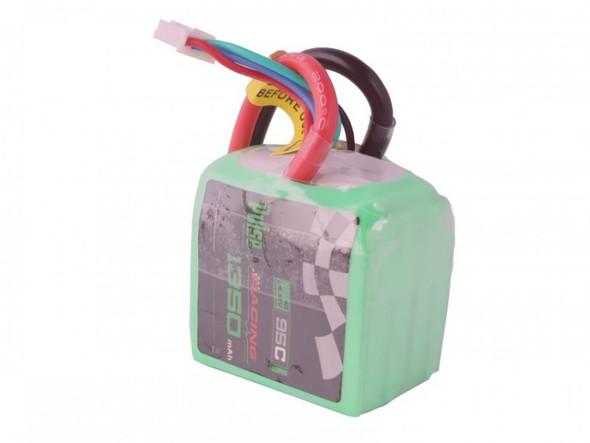 PULSE PLU95-13504SQ 1350mAh 4S 14.8V 95C Cube Lipo Battery with XT60 Plug