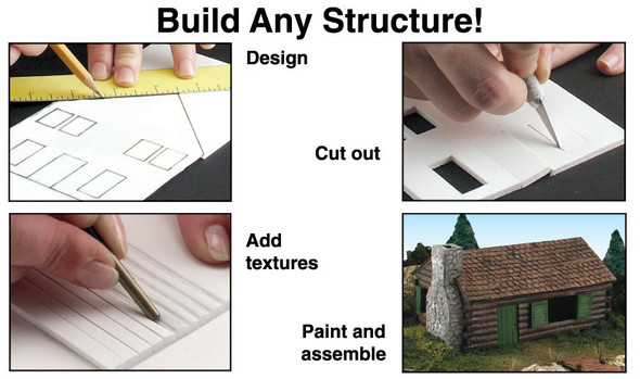 Woodland Scenics Scene-A-Rama Building & Structure Kit
