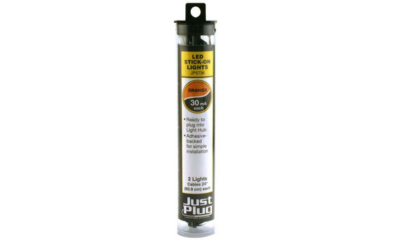 Woodland Scenics Just Plug Orange Stick-On LED Light (2)