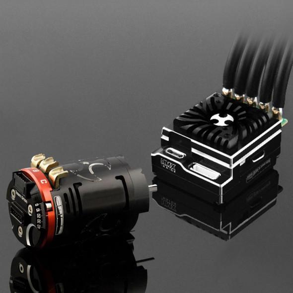 Team Orion HMX 10 ESC Blinky Bundle w/ 10.5 T Brushless Motor Combo