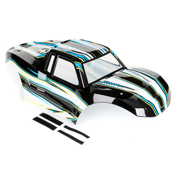 Losi LOS250013 Black / Blue Painted Body : 1/5 Monster Truck XL