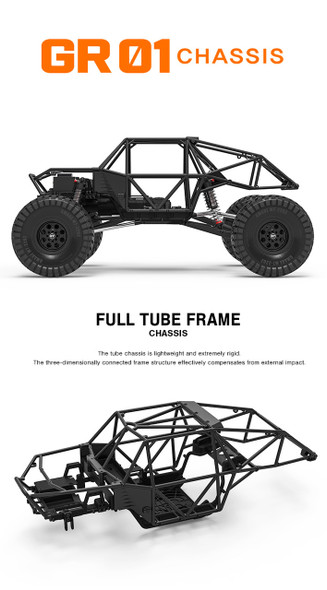 Gmade GM56000 GR01 GOM 1/10 4WD Rock Crawler Buggy Kit