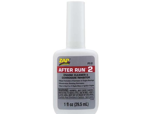 Pacer Zap After-Run Engine Oil 1 oz PT31