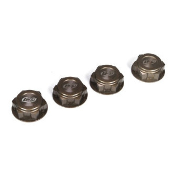 Losi LOSB3228 Wheel Nuts, Captured (4) 1/5th Scale 5ive-T