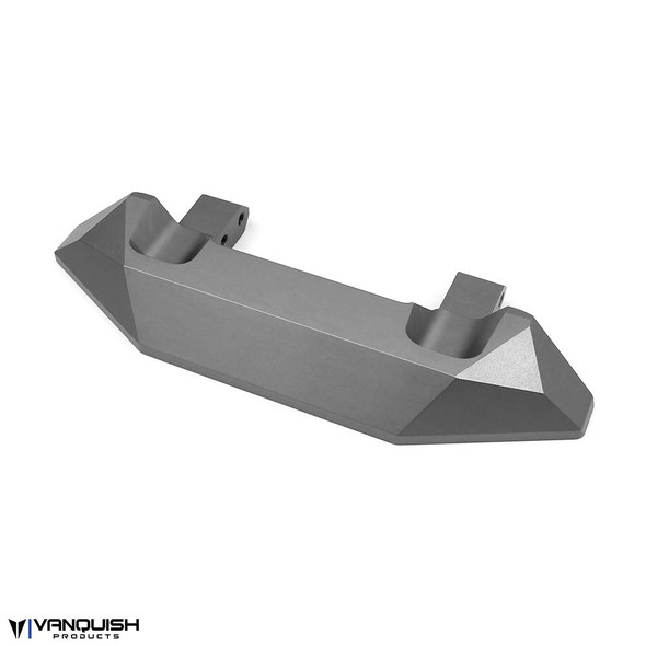 Vanquish VPS06874 Ripper Bumper Clear Anodized : Axial SCX10