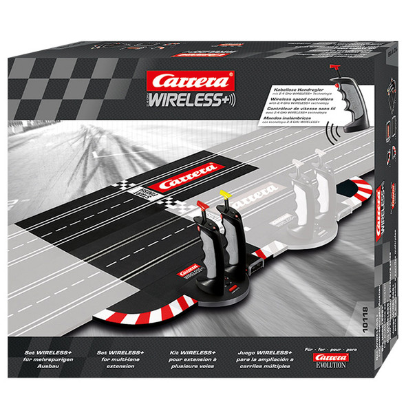 Carrera 10118 Evolution 2.4 GHz Wireless Set for Multi-Lane Extension