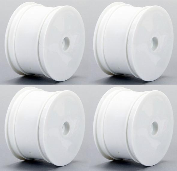 Losi White Wheel Set Front / Rear (4) Mini 8T LOS41003