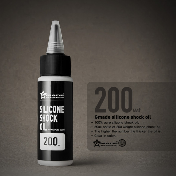 Gmade GM22700 Silicone Shock Oil 200 Weight 50ml