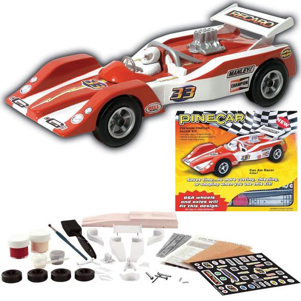 Pine Pro P3947 PineCar Can Am Racer Premium Racer Car Kit