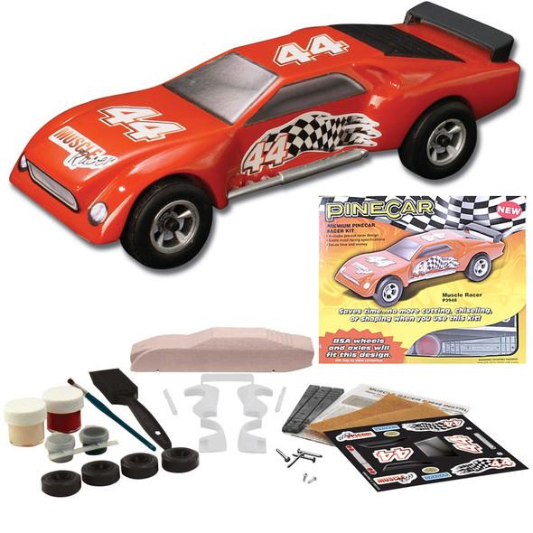 Pine Pro P3948 PineCar Muscle Racer Premium Racer Car Kit