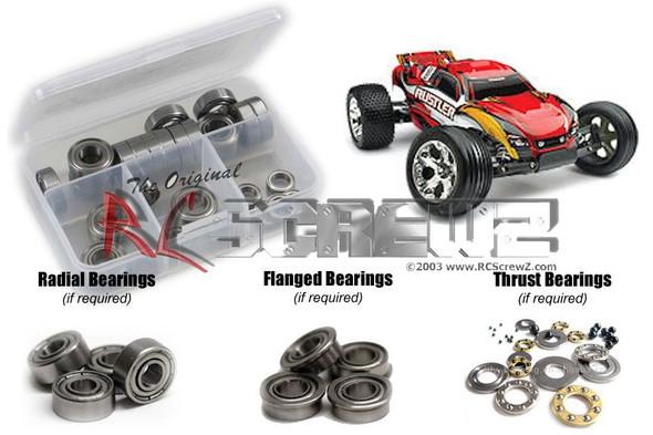 RC Screwz TRA004B Traxxas Rustler Metal Shielded Bearings Kit