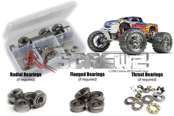 RC Screwz TRA016B Traxxas T-Maxx 3.3 Metal Shielded Bearings Kit