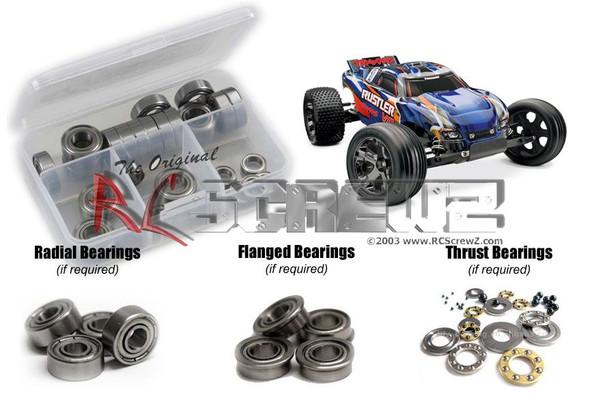 RC Screwz TRA023B Traxxas Rustler VXL Metal Shielded Bearings Kit