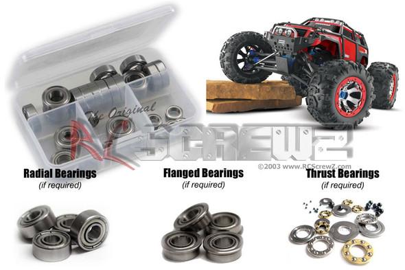 RC Screwz TRA036B Traxxas Summit Metal Shielded Bearings Kit