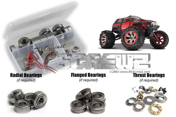 RC Screwz TRA042B Traxxas 1/16th Summit Metal Shielded Bearings Kit