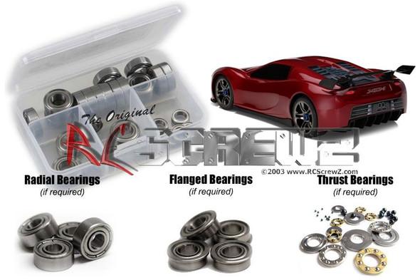 RC Screwz TRA047B Traxxas XO-1 Metal Shielded Bearings