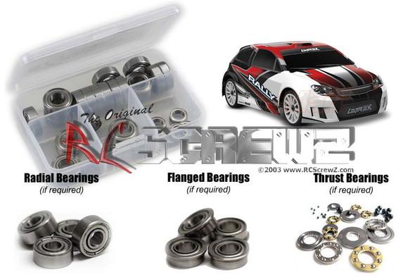 RC Screwz TRA053B Traxxas Latrax 1/18th Rally Metal Shielded Bearings Kit