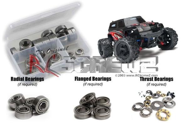 RC Screwz TRA055B Traxxas Latrax 1/18th Teton Metal Shielded Bearings Kit