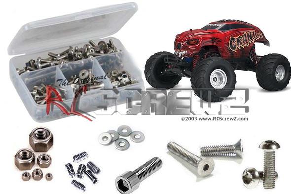 RC Screwz TRA058 Traxxas Craniac Monster Truck Stainless Steel Screw Kit