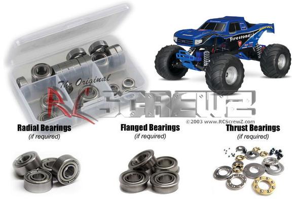 RC Screwz TRA077B Traxxas Bigfoot 2wd 1/10th Metal Shielded Bearings Kit