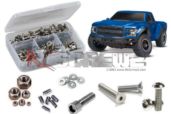 RC Screwz TRA078 Traxxas Ford Raptor 2017 Stainless Screw Kit