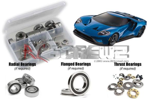 RC Screwz TRA080R Traxxas 4-Tec 2.0 Ford GT Rubber Shielded Bearings Kit