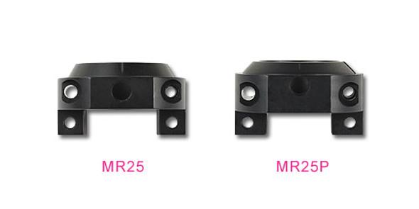 Align M425007XX Motor Mount Block Black : MR25XP
