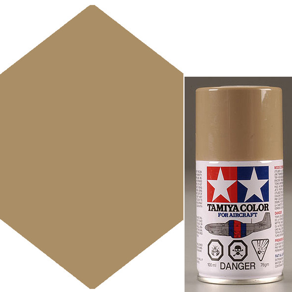 Tamiya AS-15 Tan USAF Lacquer Spray Paint 3 oz