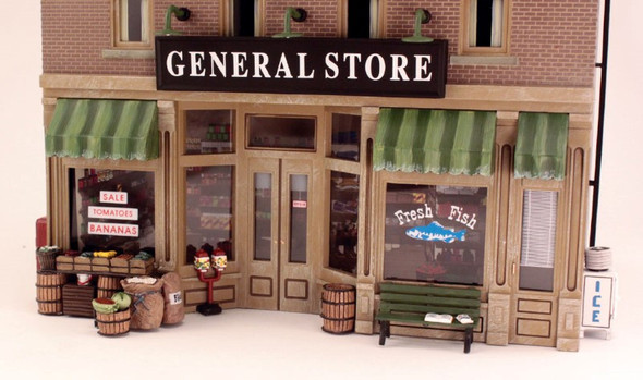 Woodland Scenics Lubener's General Store O Railroad Train Building  BR5841