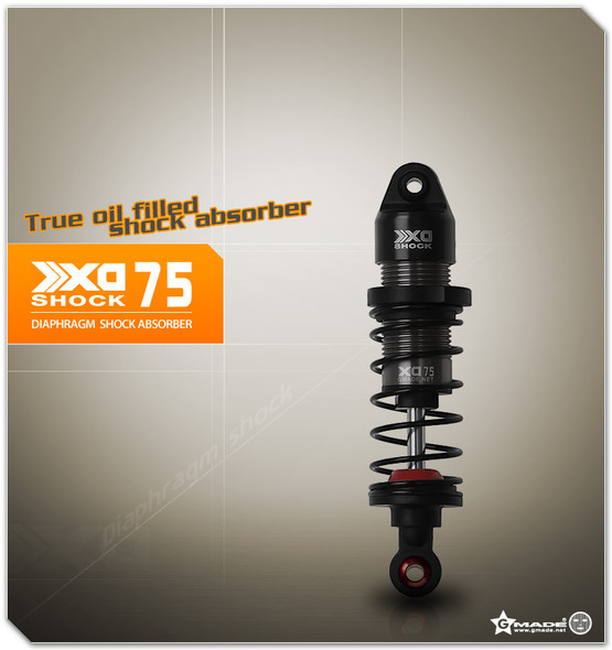 Gmade GM22307 XD Diaphragm Shock 75mm 4pcs 1/10 Truck,Crawlers & Buggy