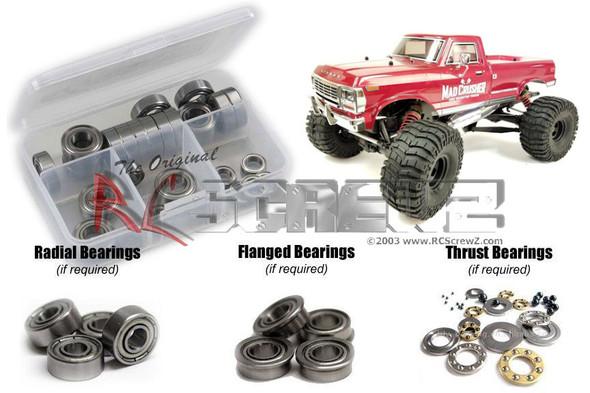 RC Screwz KYO180B Kyosho Mad Crusher GP Metal Shielded Bearings Kit
