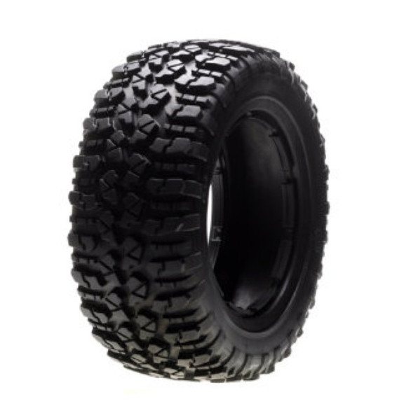 Losi LOSB7240 Nomad Tire Set, Firm (1ea. L/R) 1/5 4WD 5IVE-T