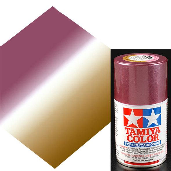 Tamiya Polycarbonate PS-47 Pink/Gold Spray Paint 86047