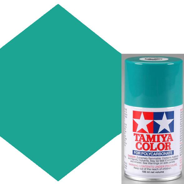 Tamiya Polycarbonate PS-54 Cobalt Green Spray Paint 86054