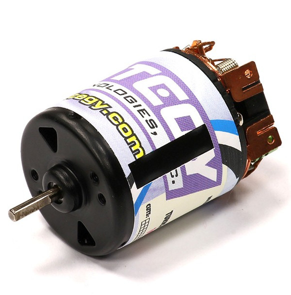 Integy Matrix Pro Motor 19 Turn Brush Type Speed Tuned w/ Adjustable Timing SCM1901