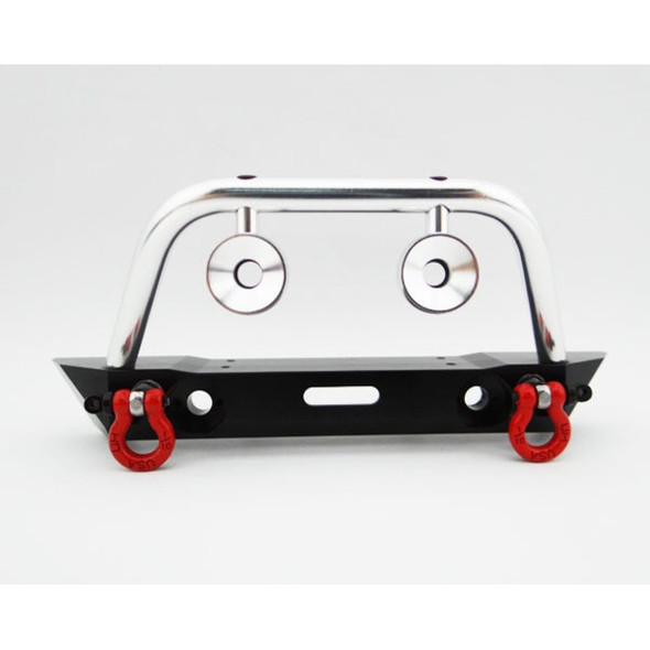Hot Racing Aluminum Front Bumper w/ Winch & Light Mounts : Axial SCX10 / Dingo / Honcho