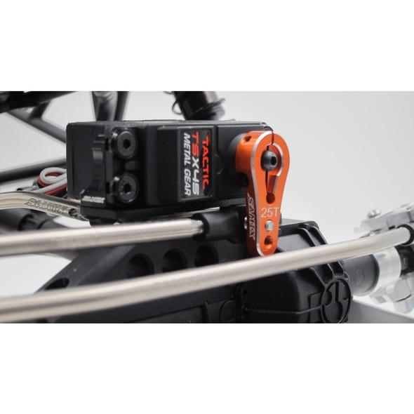 SAMIX SCX-6022K-V2-OR 23T Servo Horn Orange : SCX10-2 / SCX10 / XR10 / EXO