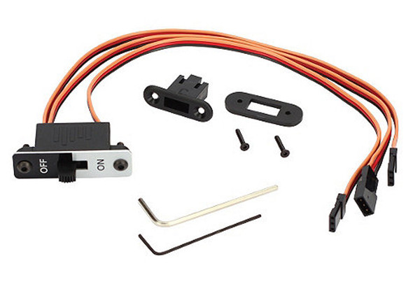Spektrum Deluxe 3-Wire Switch Harness SPM9532