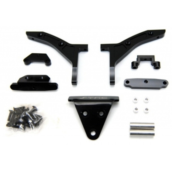 STRC ST6808BK 1/8 E-Buggy Conversion Kit Black : Traxxas Slash 4x4