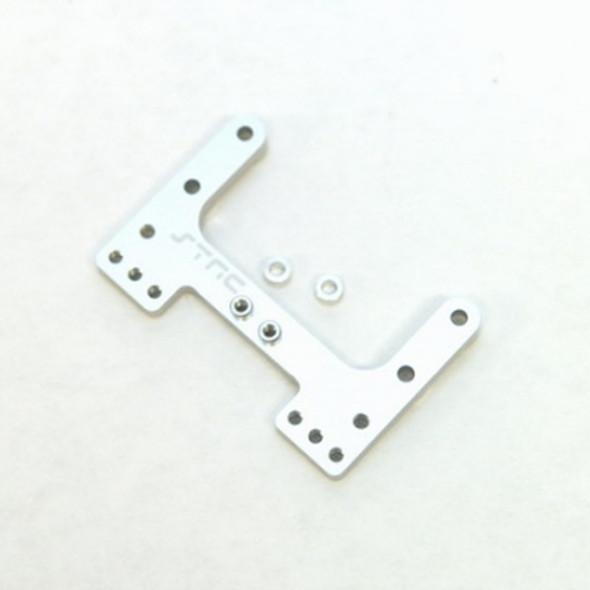 STRC STC9564S CNC Machined Precision Aluminum Rear Brace : SC10/T4/B4 Silver