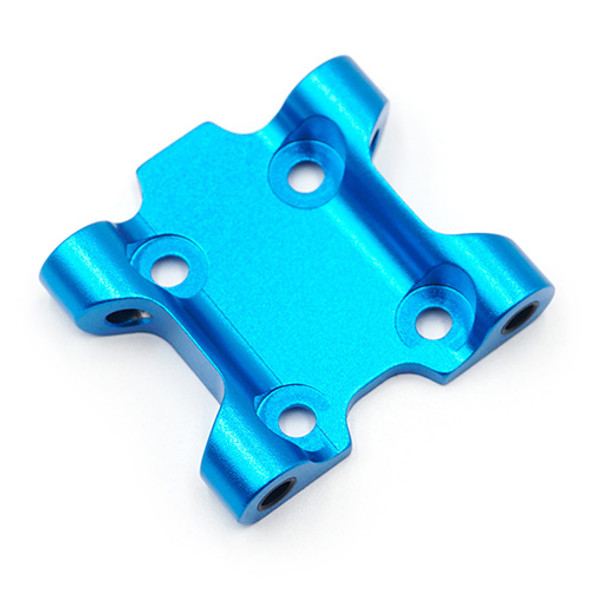 Yeah Racing TAMC-033BU Aluminum Front Suspension Mount :Tamiya M07 Blue