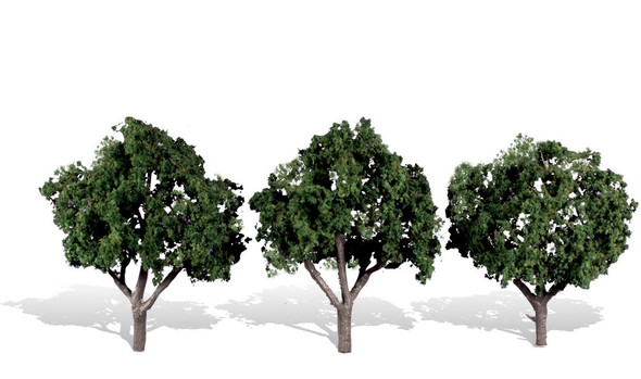 Woodland Scenics Cool Shade Trees 3-4in (3)