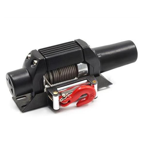 Yeah Racing YA-0388BK 1/10 RC Rock Crawler HD Steel Wired Winch Type C Black