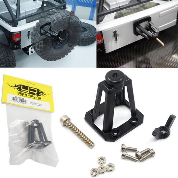 Yeah Racing filetés aluminium Link Pipe 6x45mm 2pcs Gunmetal RC Cars #YA-0424