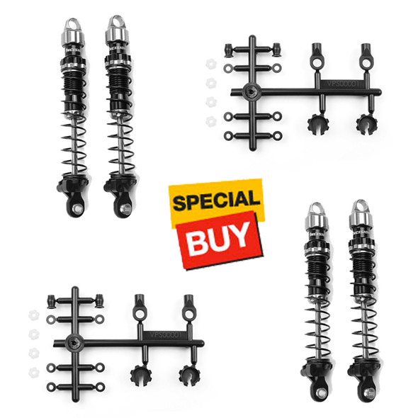 Incision IRC00210 Incision 90mm Scale Shocks Set Front / Rear (4) : Traxxas TRX-4