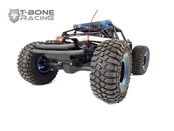 T-Bone Racing 37198 TBR XV4 Rear Bumper Red : Losi Rock Rey